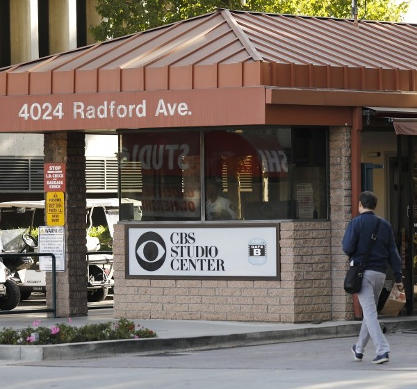 "An undated photo shows the CBS Studio Center in Studio City. In October 2020, CBS said two employees who made ""hateful and offensive"" comments to protesters this week are no longer working for the company. (Al Seib / Los Angeles Times)"