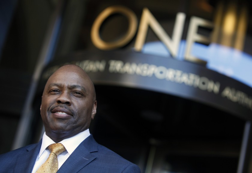 Phil Washington, who heads L.A. Metro, is seen in an undated photo. (Los Angeles Times)