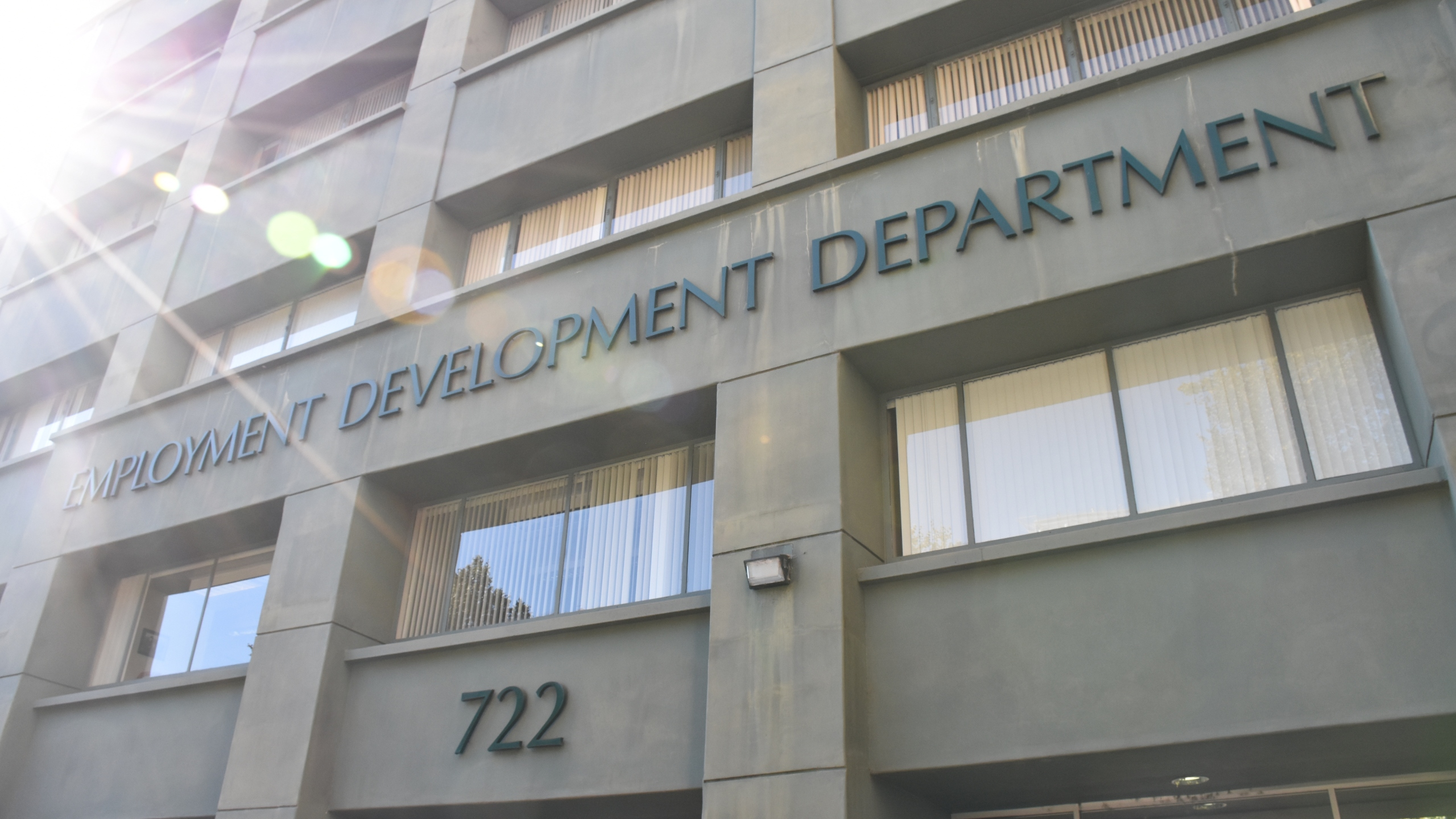 A California Employment Development Department building is seen in a photo posted on the agency's Flickr account in September 2018.