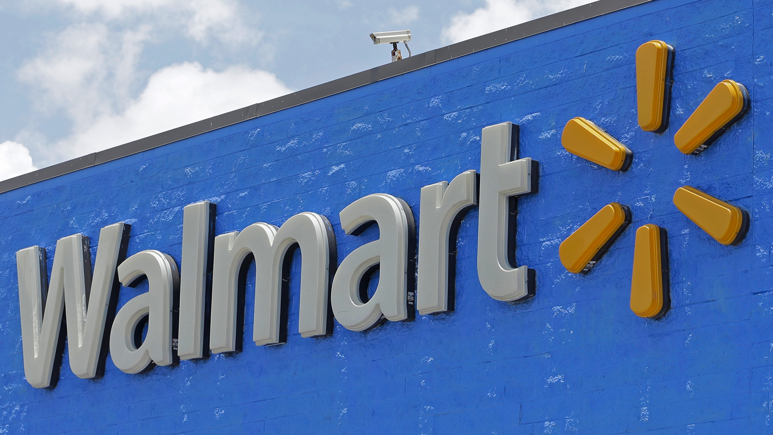 A Walmart sign is seen in a file photo. (AP Photo/Alan Diaz, File)