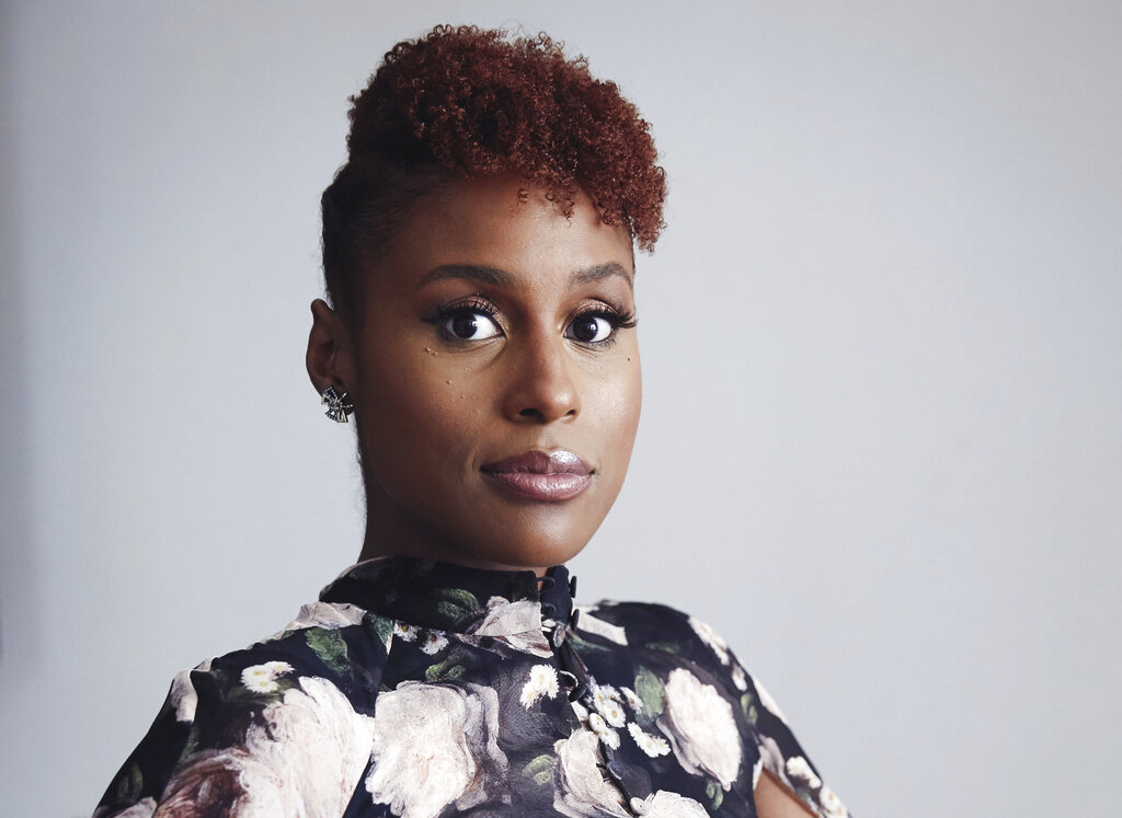 Issa Rae poses for a portrait in New York on Aug. 8, 2018. (Taylor Jewell/Invision/AP, File)