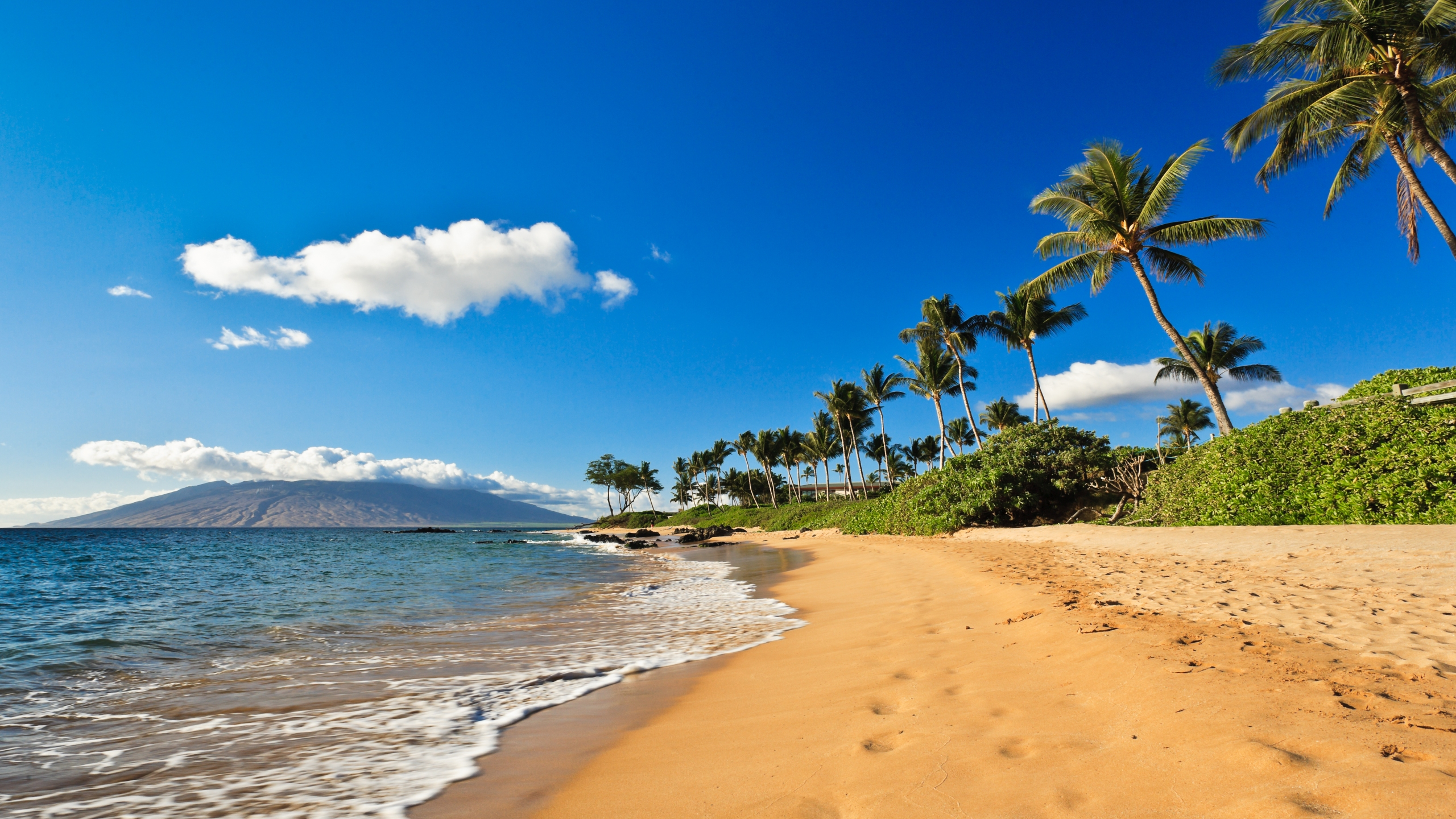 The beach in Wailea, Maui, Hawaii, is seen in a file photo. (iStock/Getty Images Plus)