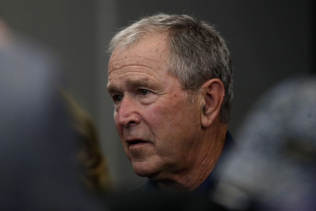 Former President George W. Bush won't reveal if he voted ...