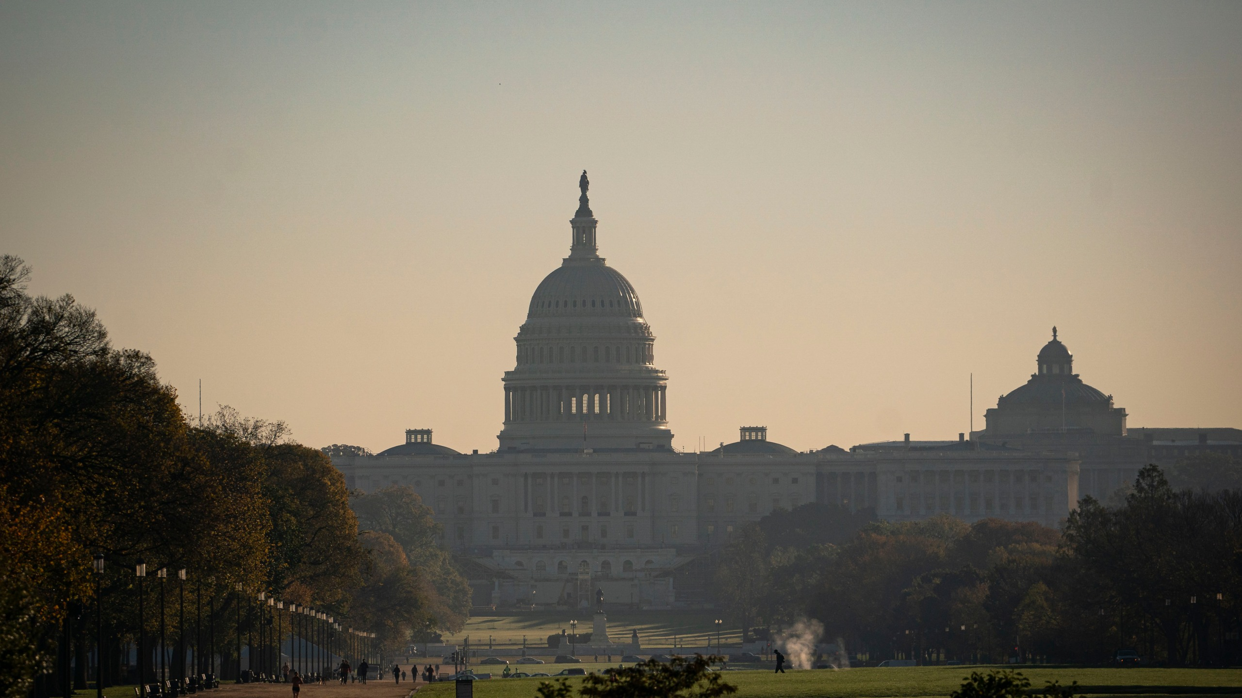 The U.S. Capitol is seen in the morning hours on November 4, 2020 in Washington, DC. (Al Drago/Getty Images)