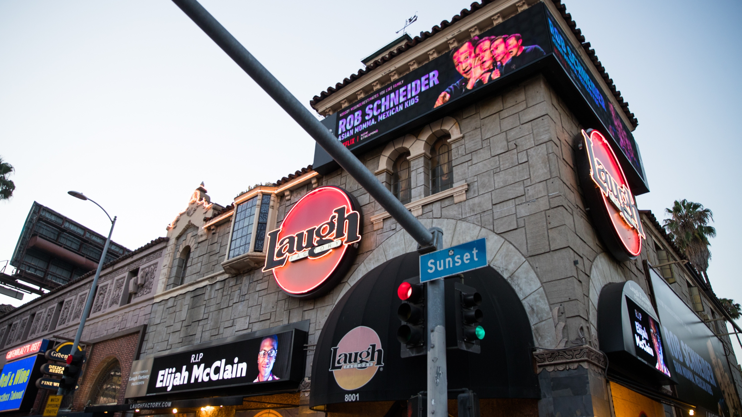 The Laugh Factory on August 24, 2020 in West Hollywood, California. (Rich Fury/Getty Images)