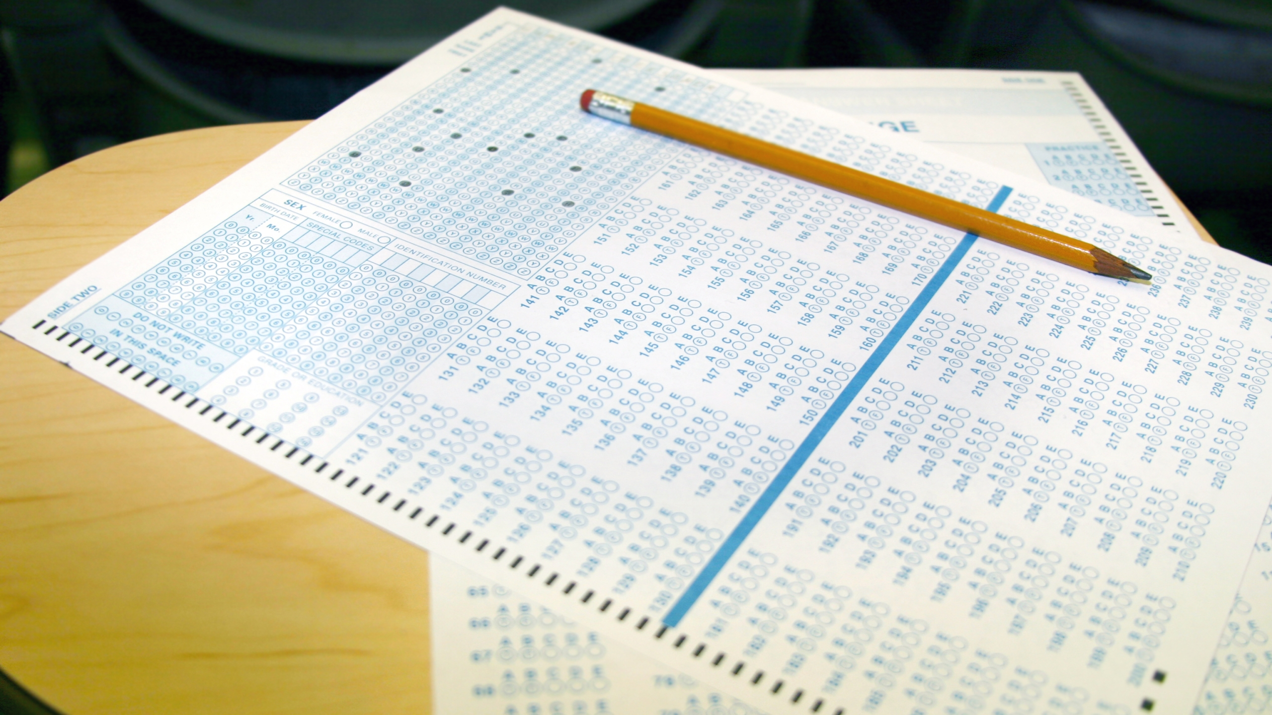 A standardized test is seen in this undated file photo. (Getty Images)