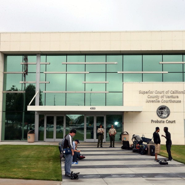 Exterior view of the Ventura County courthouse taken on August 9, 2013 in Oxnard, California. (Frederick M. Brown/Getty Images)