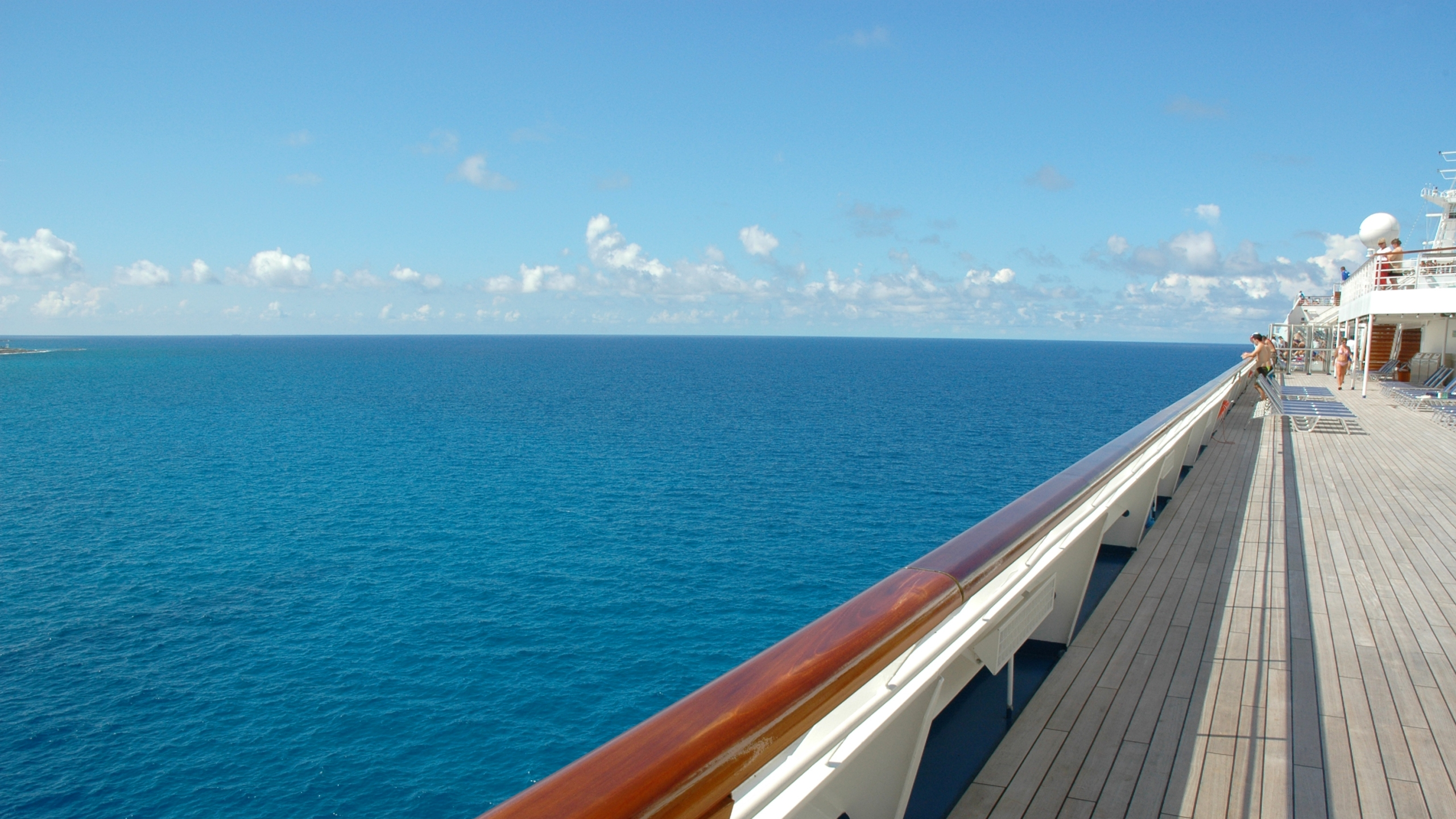 A cruise ship deck is seen in a file photo. (iStock/Getty Images Plus)