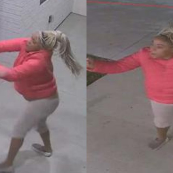 Santa Ana police released these photos of a woman they have identified as a suspect.