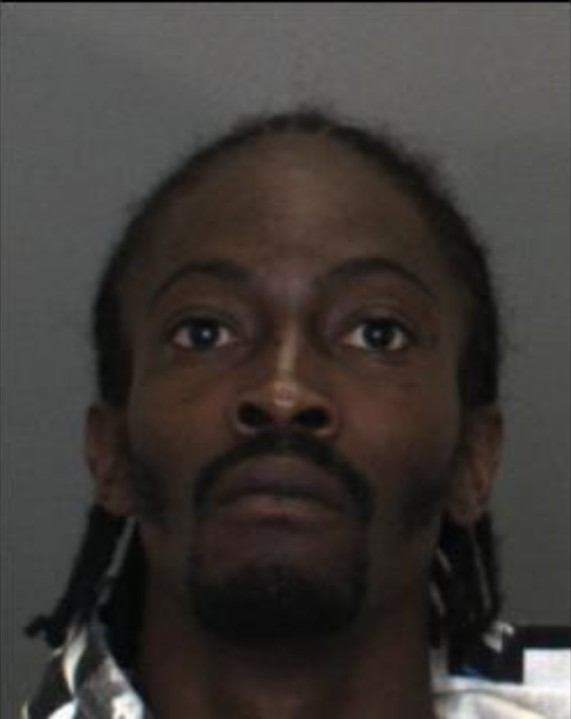 Kevin Alexander is seen in a booking photo released by Fontana police.
