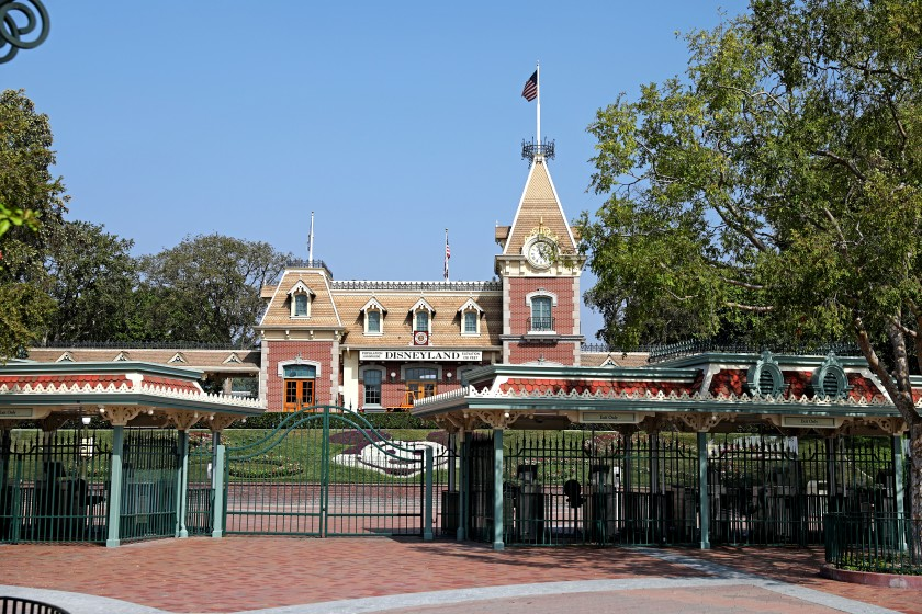 Disneyland in Anaheim has remained closed to guests since mid-March. (Christina House / Los Angeles Times)