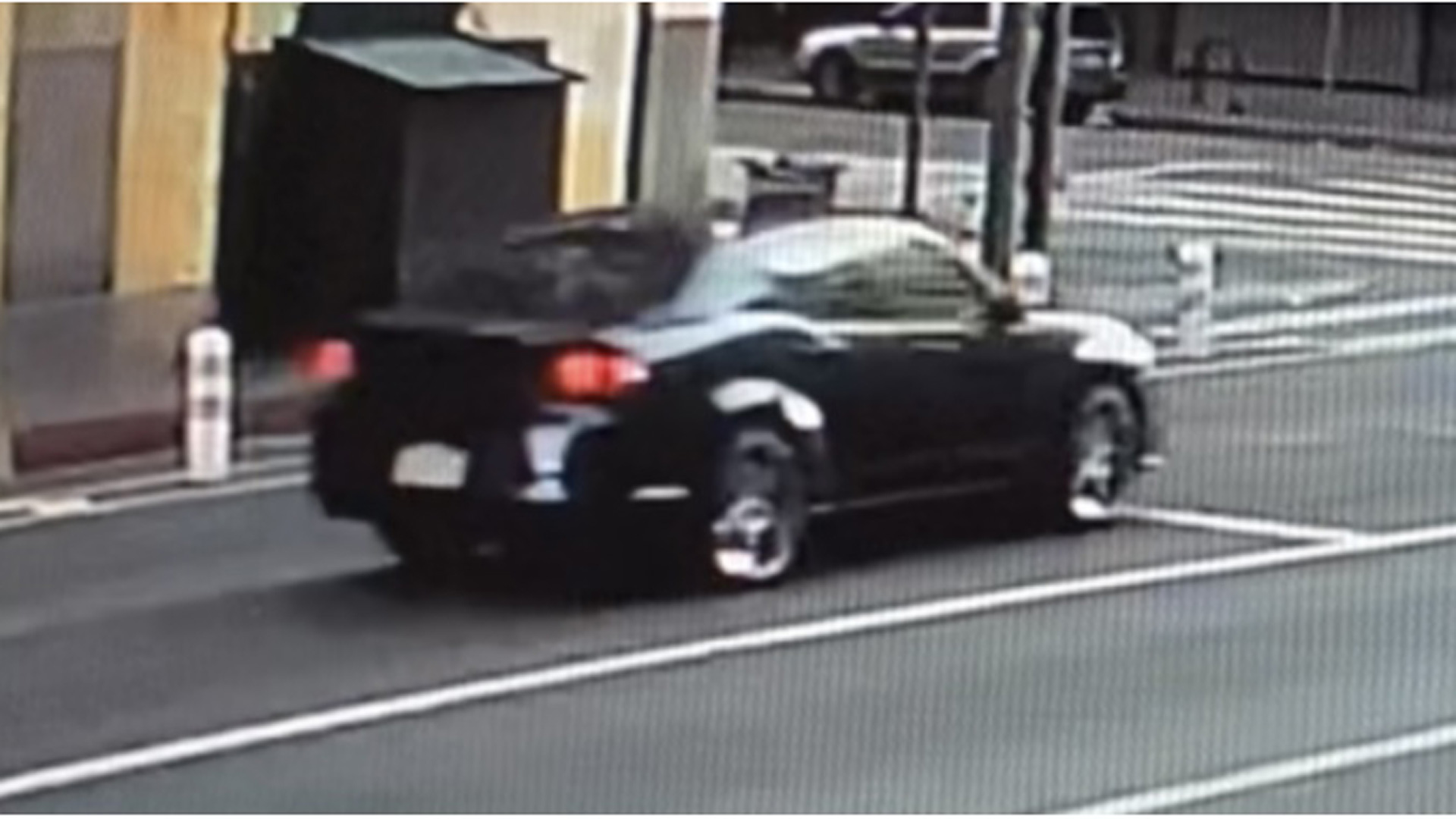 On Nov. 15, 2020, the Los Angeles Police Department released this image of car wanted in a hit-and-run.