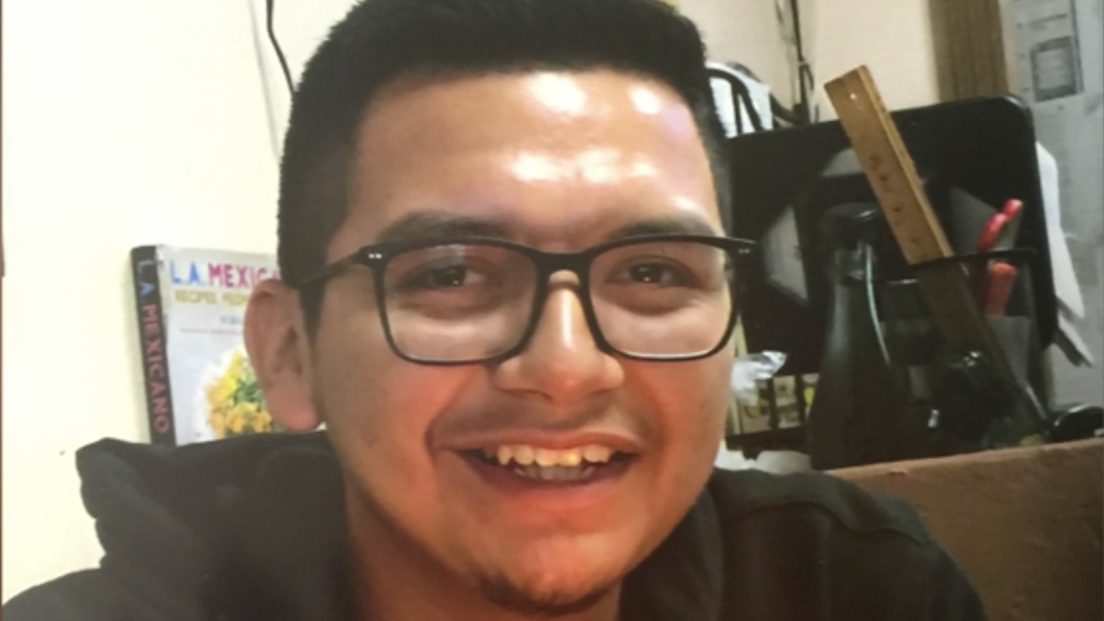 Juan Hernandez is seen in an undated photo provided by his family after he went missing on Sept. 22, 2020.