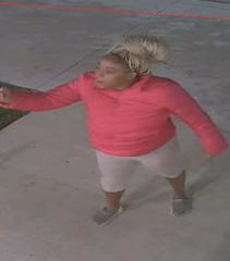 Santa Ana police released this photo of a woman they have identified as a suspect.