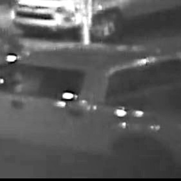 The San Bernardino County Sheriff's Station released this image on Nov. 9, 2020, of truck wanted in connection with a hit-and-run in Big Bear Lake.
