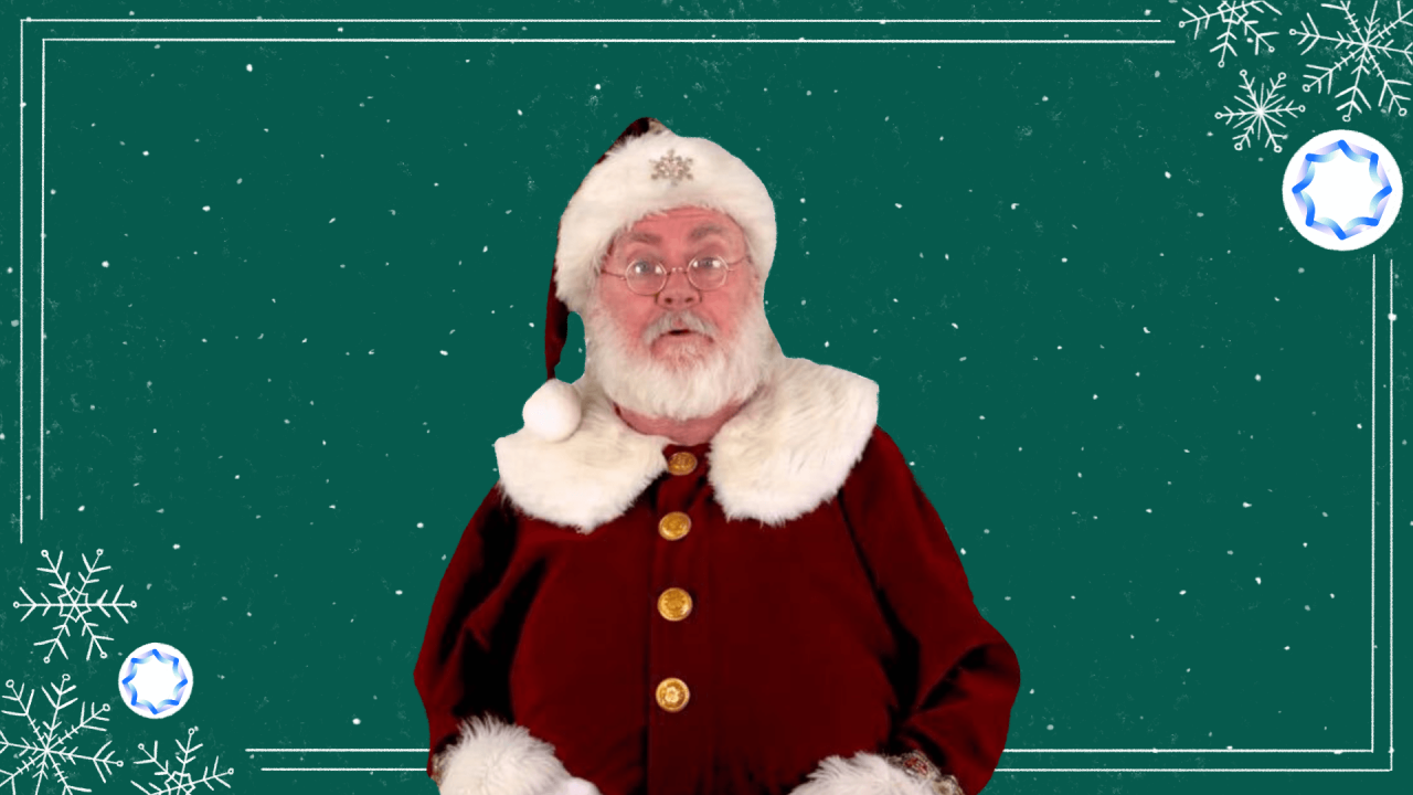 This AI-powered Santa can deliver a personalized video message to your friends or family and it looks totally real