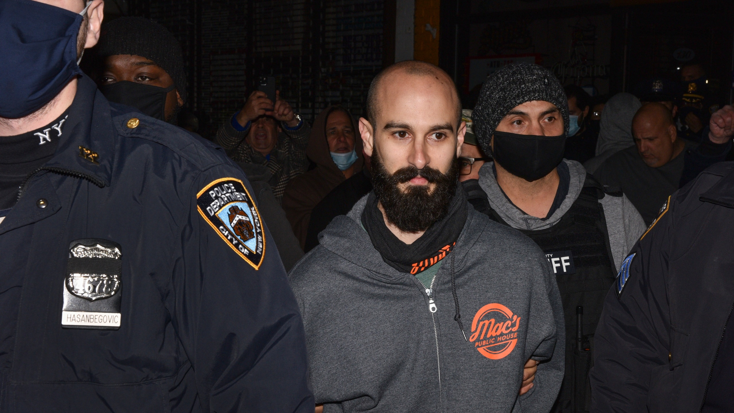 Officials blast NYC bar owner accused of running over deputy
