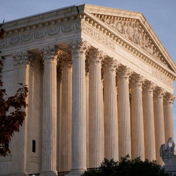 The Supreme Court is seen in Washington on Nov. 5, 2020. (J. Scott Applewhite / Associated Press)