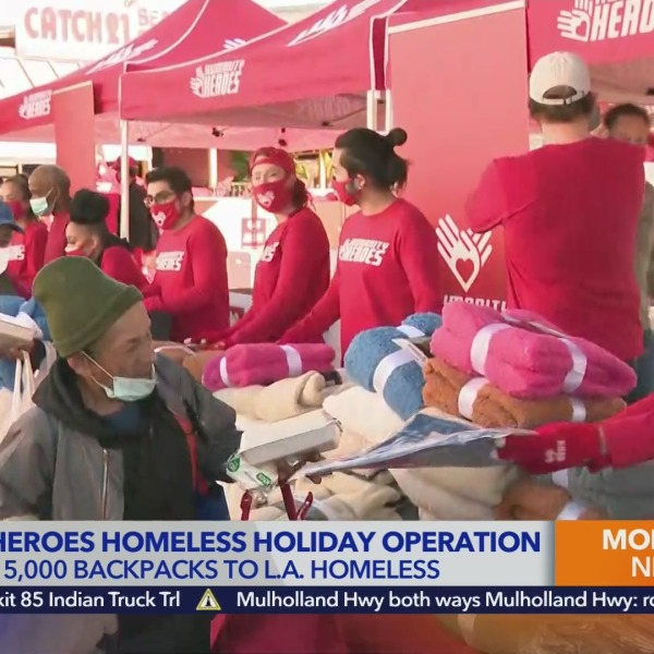 BigMike on Humanities Heroes' Homeless Holiday Operation