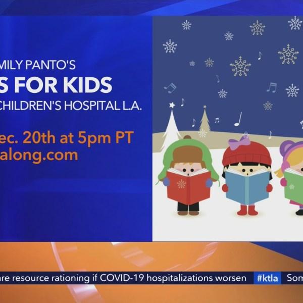 Carols for Kids CHLA Dec 20th