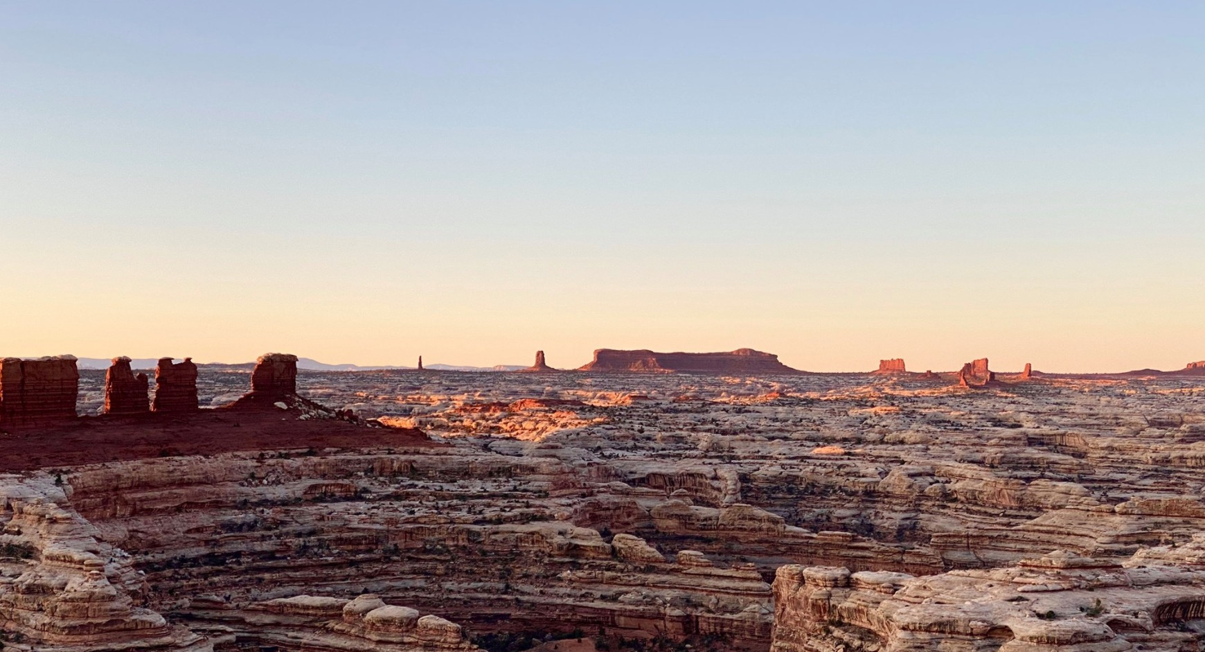 A view of Canyonlands National Park is seen a photo from the National Park Service.