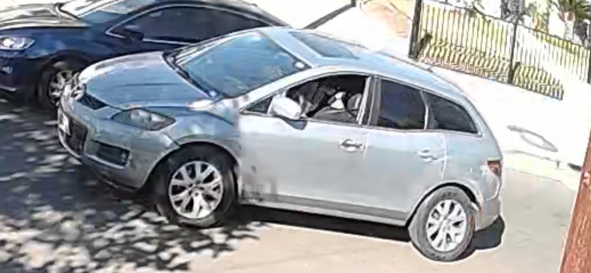 A vehicle believed to have been involved in a hit-and-run crash in Boyle Heights on Dec. 4, 2020. (LAPD)