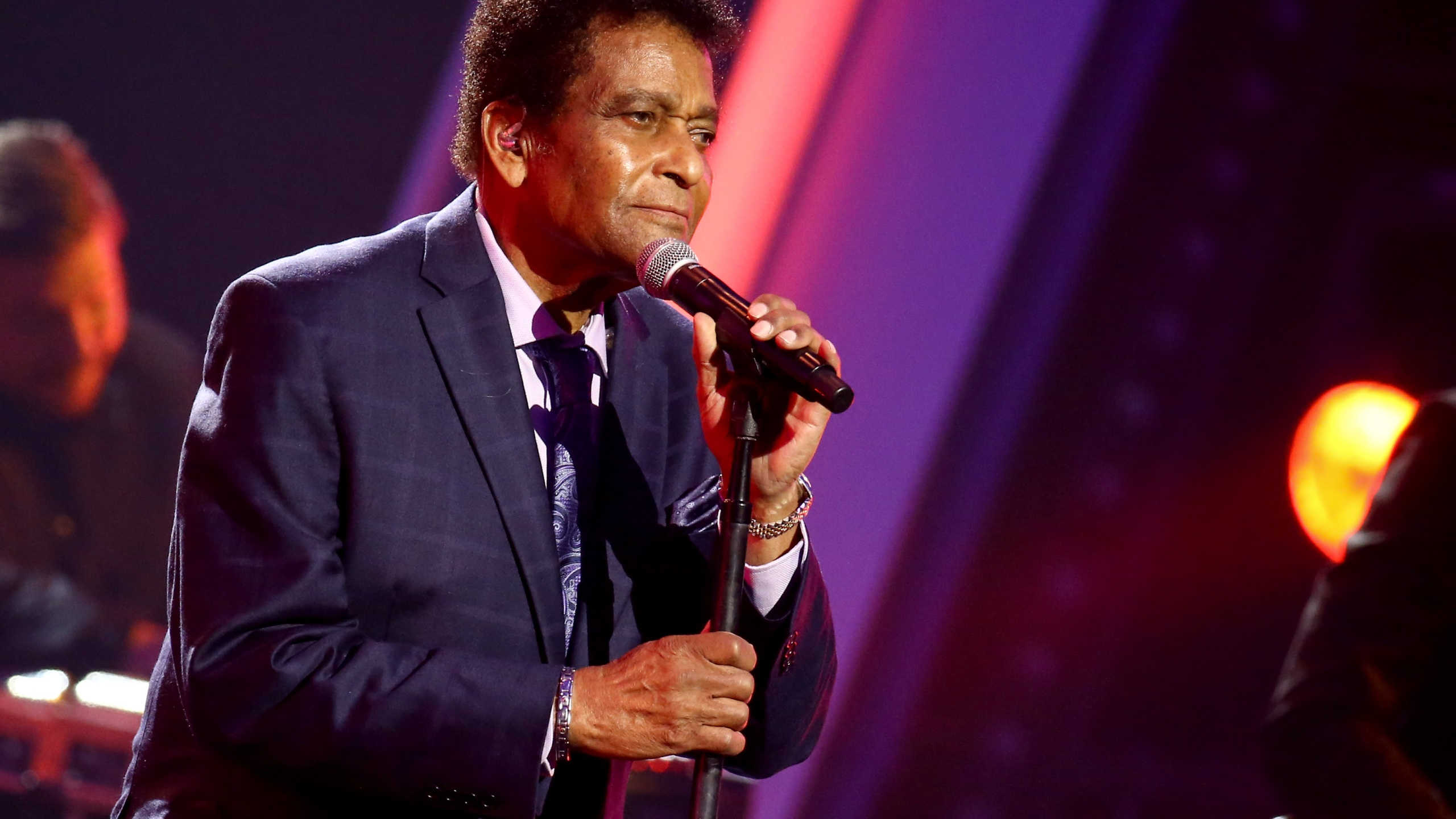 Charley Pride performs on stage during the the 54th Annual CMA Awards at Nashville's Music City Center on Wednesday, Nov. 11, 2020 in Nashville, Tennessee. (Terry Wyatt/Getty Images for CMA)