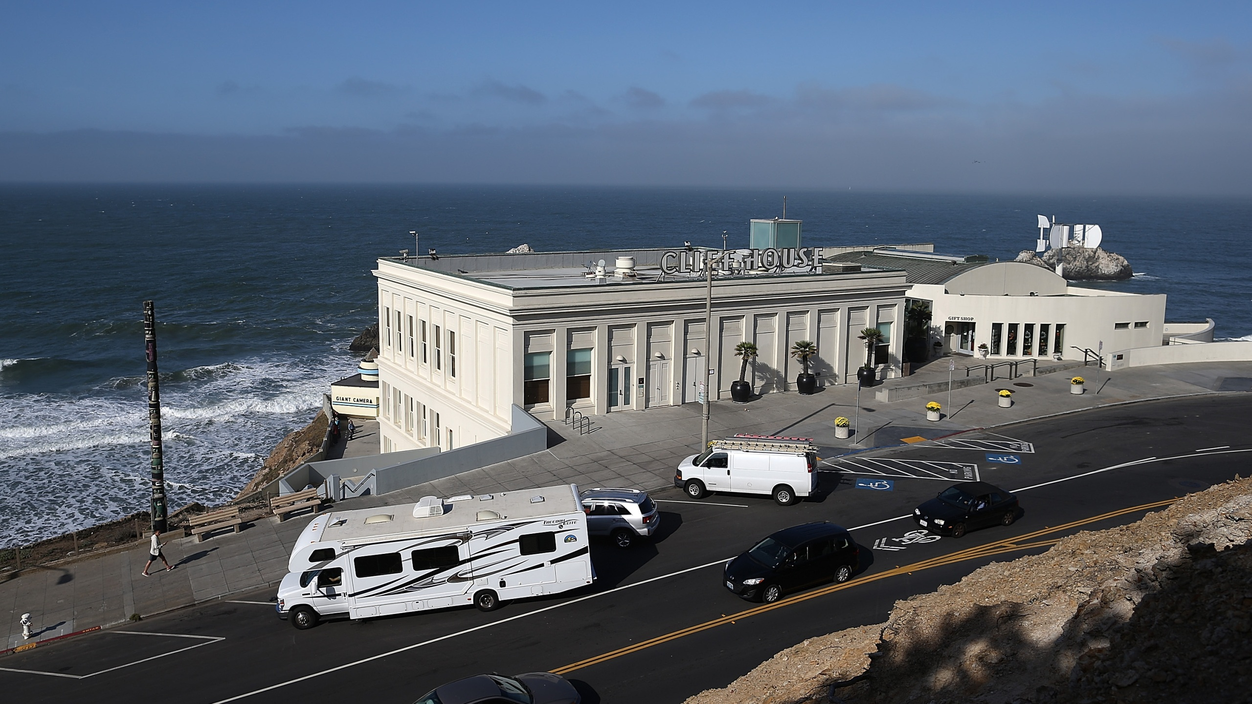 A view of the Cliff House restaurant on October 10, 2013 in San Francisco, California. (Photo by Justin Sullivan/Getty Images)