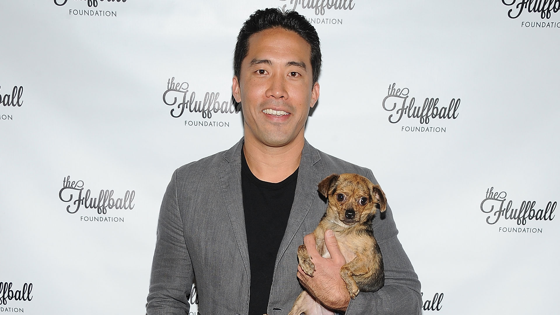Founder of Animal Hope and Wellness Marc Ching attends The Fluffball 2015 on Oct. 3, 2015 in Los Angeles. (Angela Weiss/Getty Images for The Fluffball Foundation)