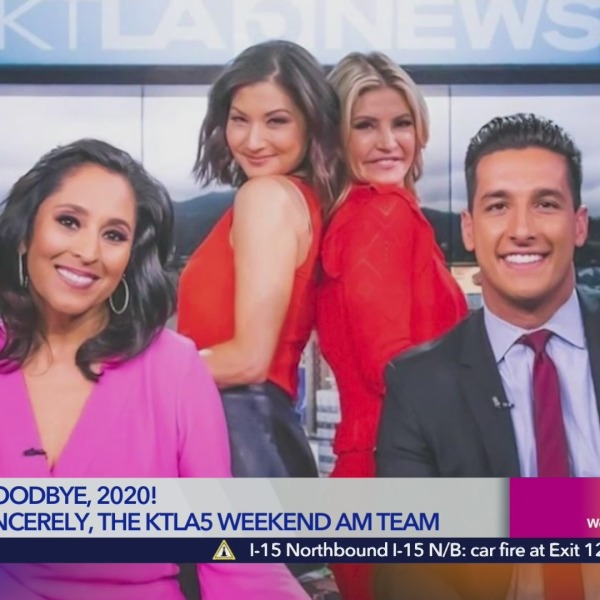 KTLA WEEKEND GOODBYE 2020 END OF YEAR HIGHLIGHTS