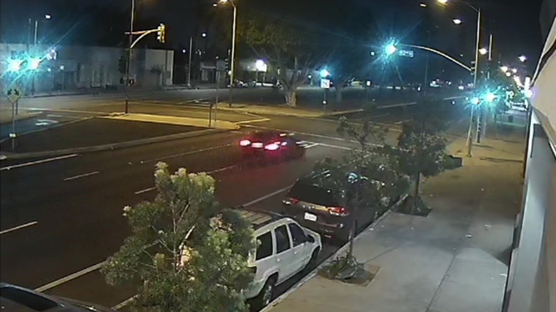 The CHP released this photo of a car wanted in a fatal hit-and-run of a pedestrian on Dec. 1, 2020.
