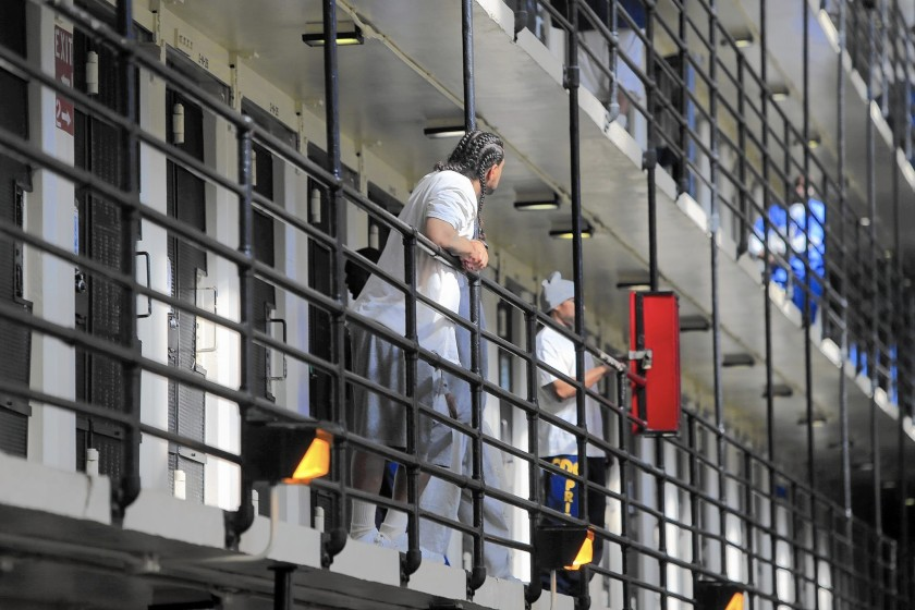 California prisoners including death row inmates were sent unemployment benefits in recent months, according to state and federal prosecutors who have been investigating fraud in the pandemic relief system. (Mark Boster / Los Angeles Times)
