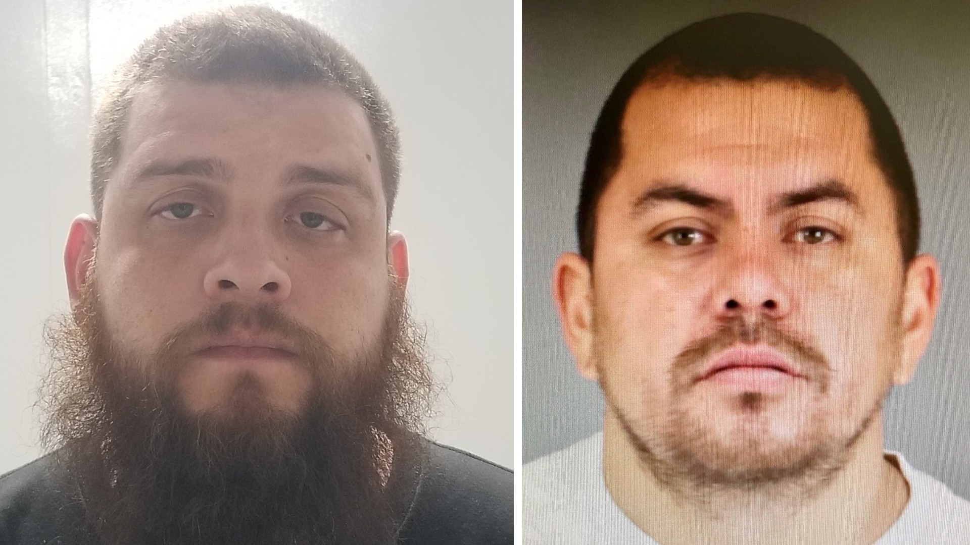 Ernesto Gonzales, left, and Angel Melesio Sanchez of Hemet, right, are seen in an undated photos released by Hemet police on Jan. 5, 2020.