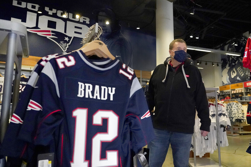 patriots jersey store
