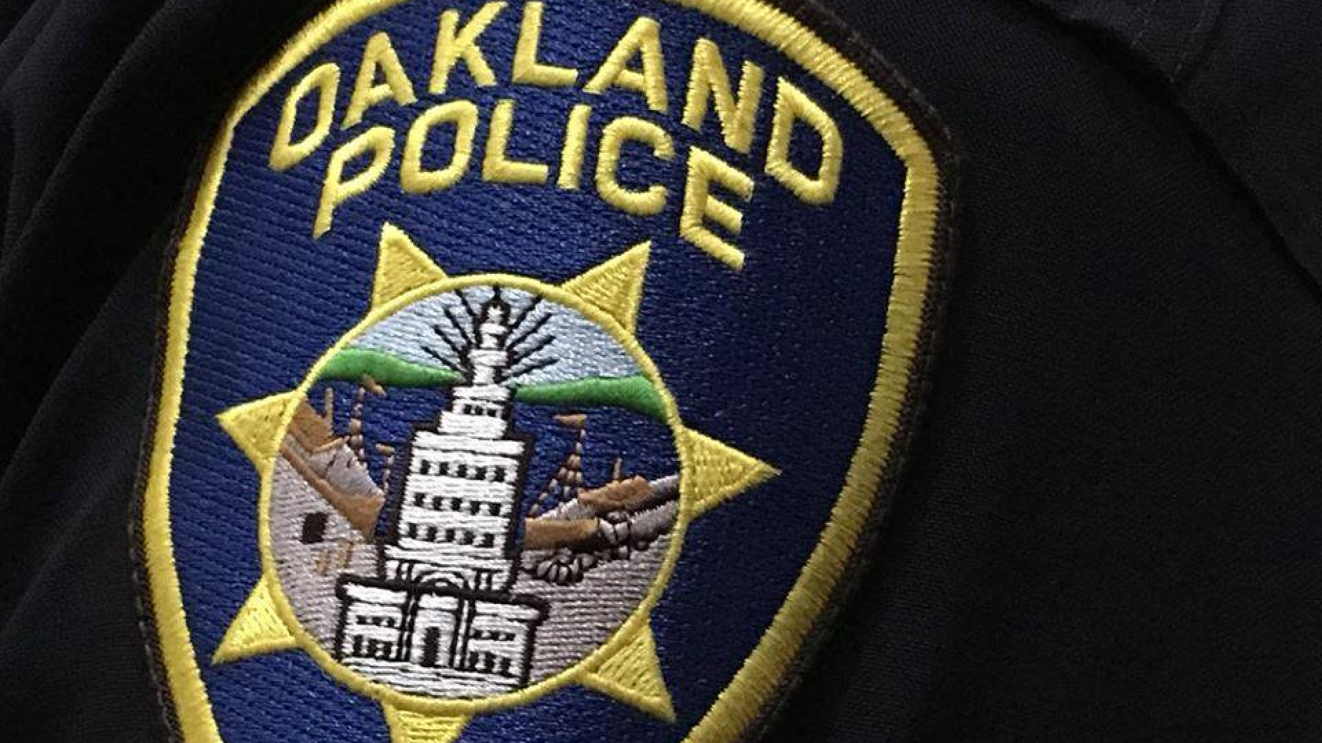 This file photo shows an Oakland police uniform patch. (Oakland Police Department/Facebook)