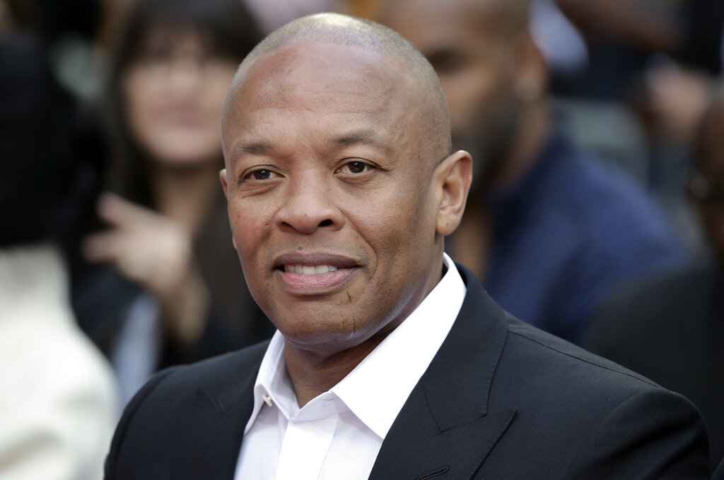 Dr. Dre attends a ceremony on Nov. 27, 2018, in Los Angeles. (Richard Shotwell/Invision/AP, File)