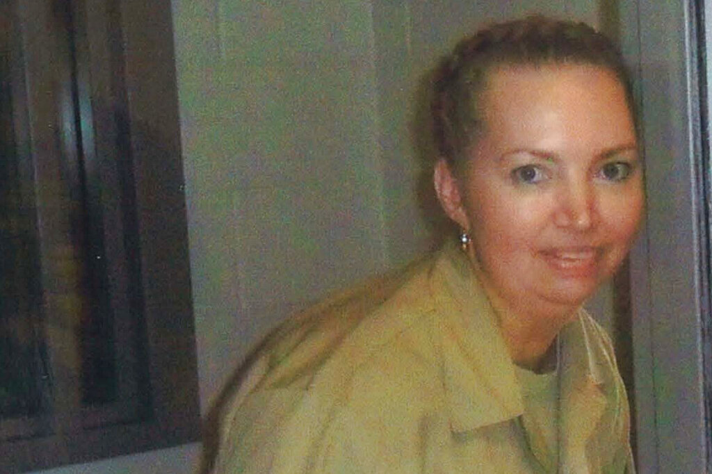 This undated file image provided by Attorneys for Lisa Montgomery shows Lisa Montgomery. (Attorneys for Lisa Montgomery via AP)