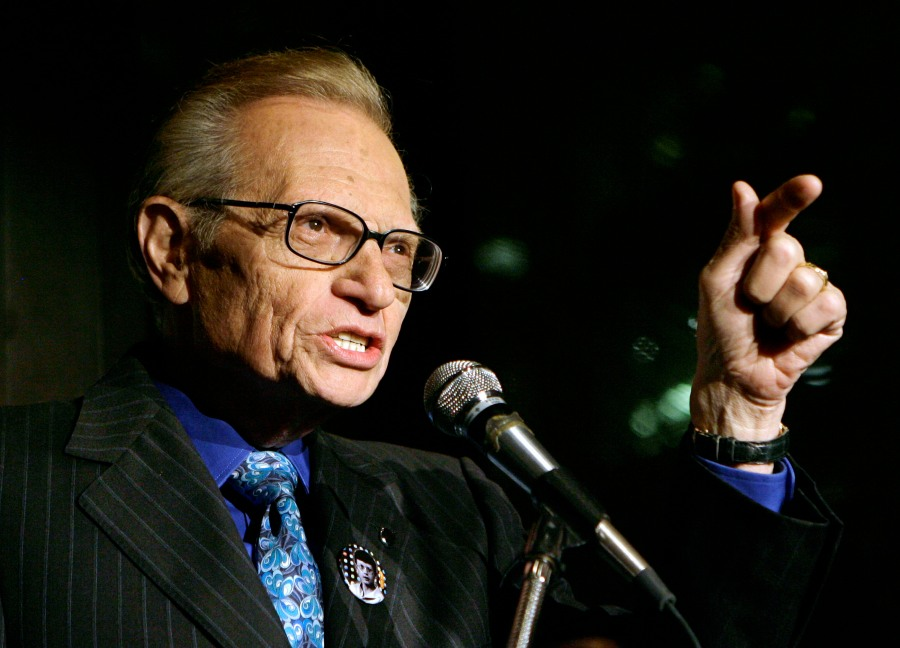 Larry King, broadcast giant who helped define American conversation for half-century, dies at 87