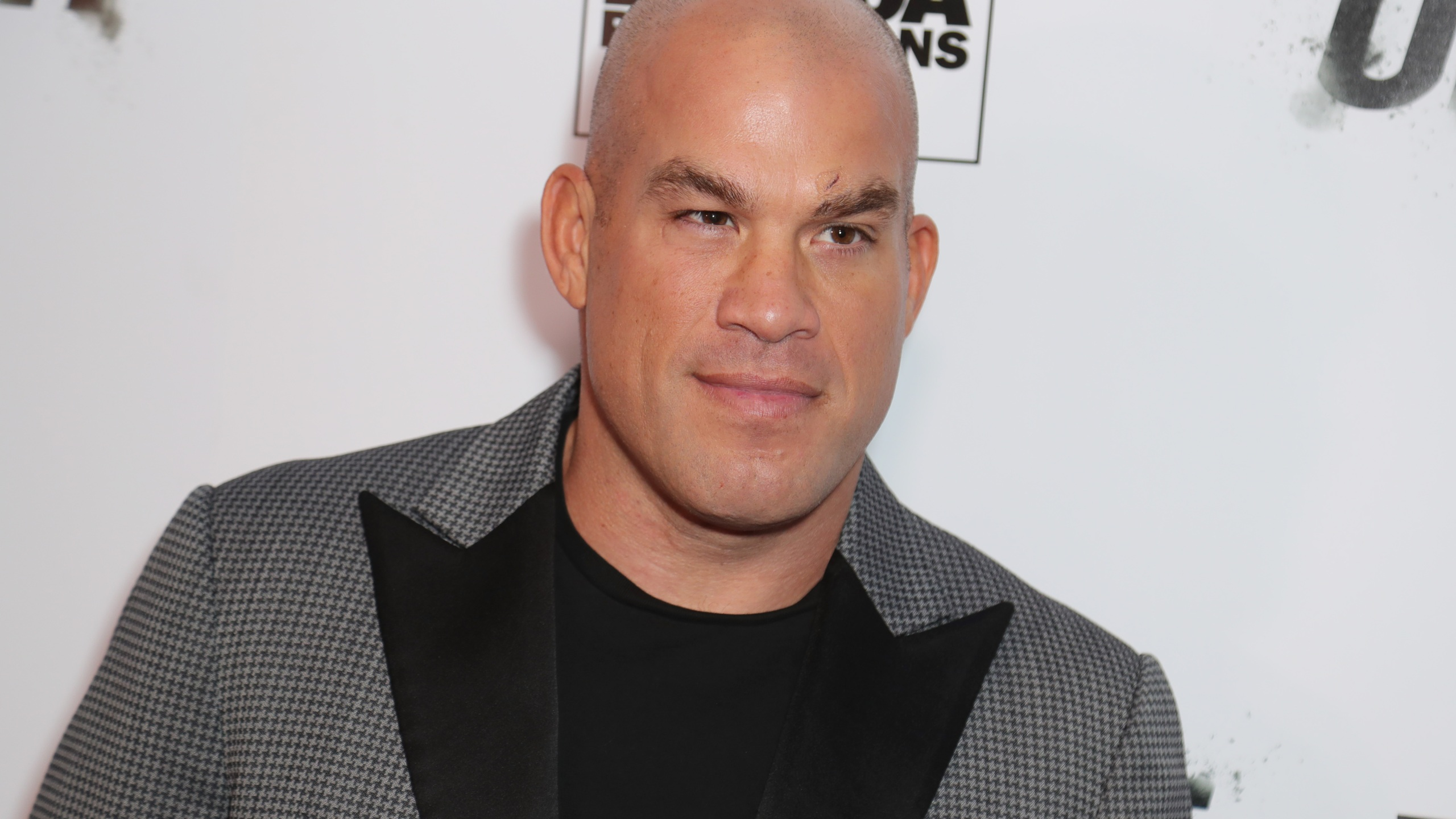 """Tito Ortiz attends the premiere Of """"One Night: Joshua Vs. Ruiz"""" at Writers Guild Theater on Nov. 21, 2019, in Beverly Hills, California. (Leon Bennett/Getty Images)"""