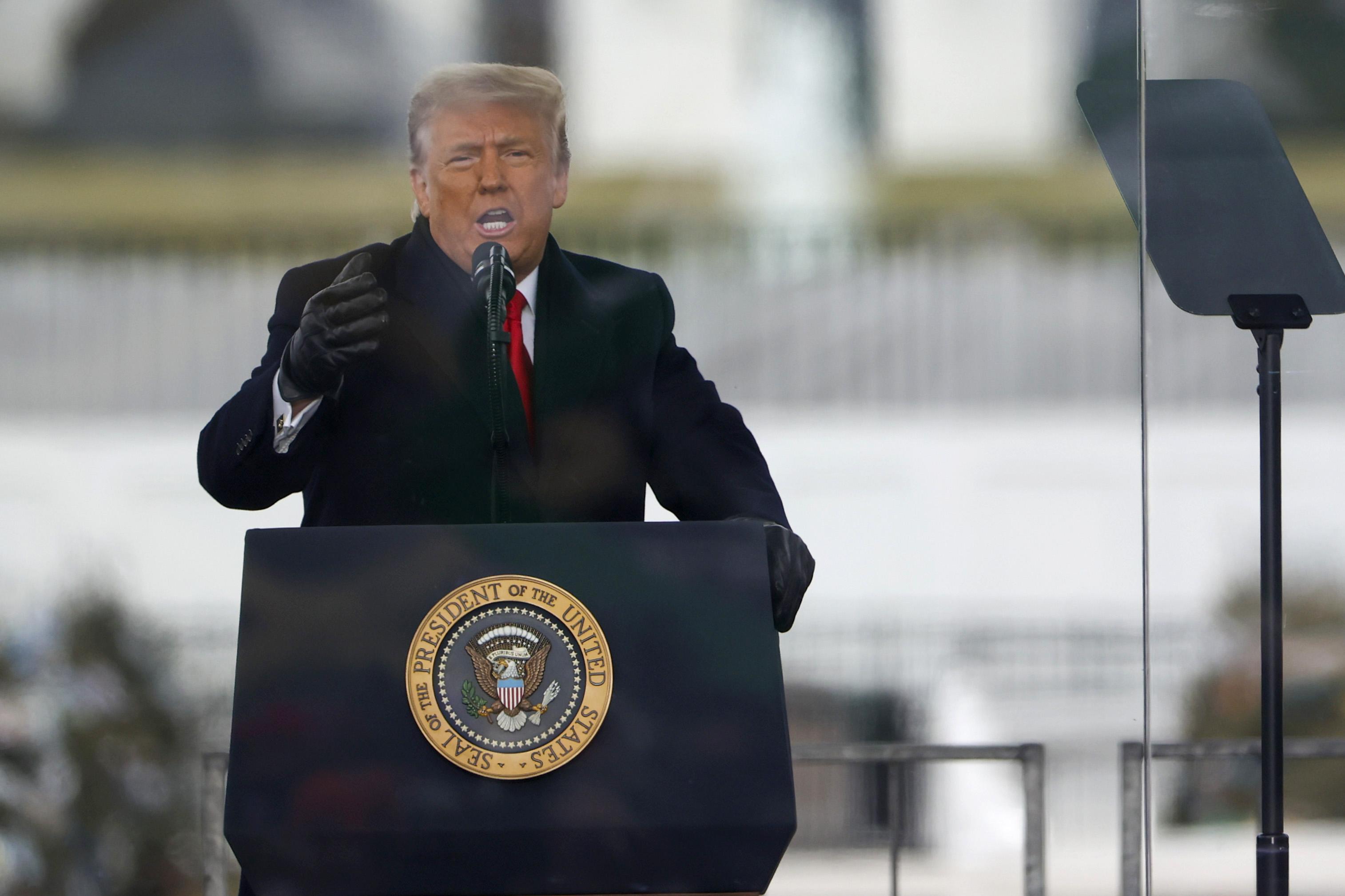 Trump banned on Facebook, Instagram through Biden inauguration — maybe  longer   KTLA