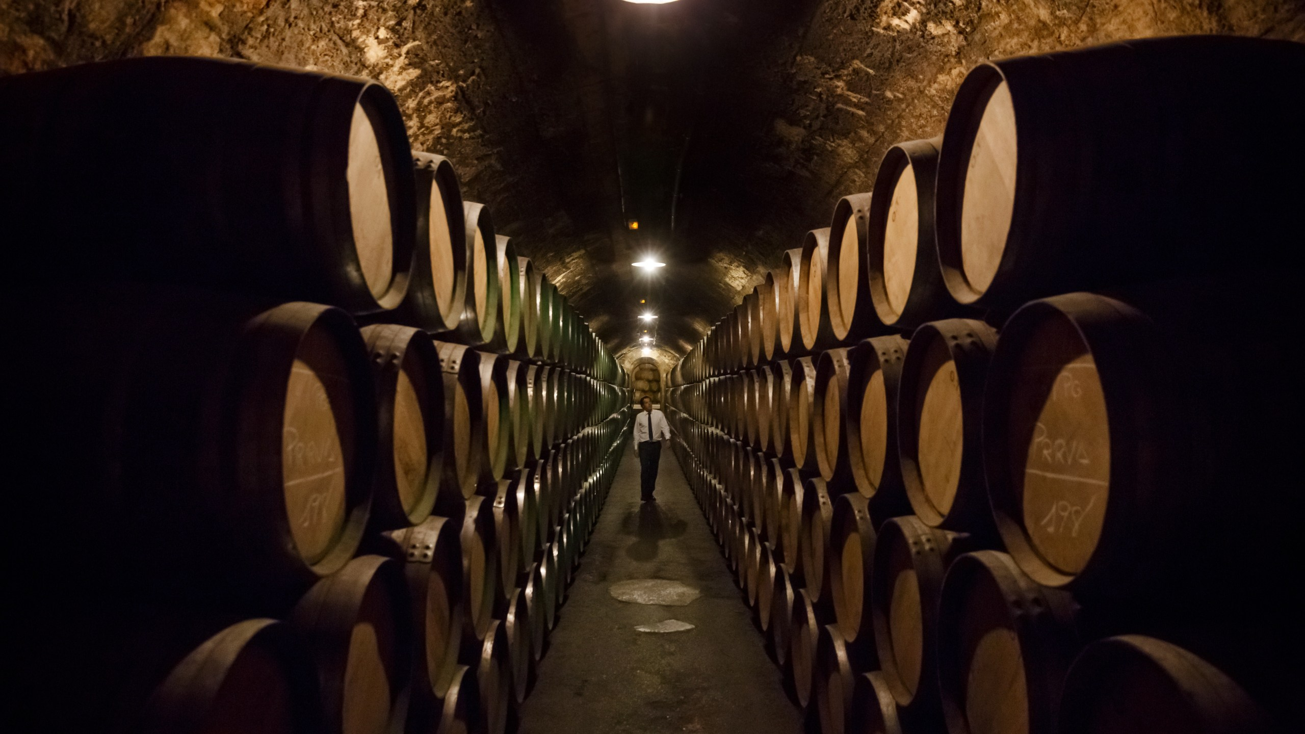 A winery in Spain is seen in this undated file photo. (CESAR MANSO/AFP via Getty Images)