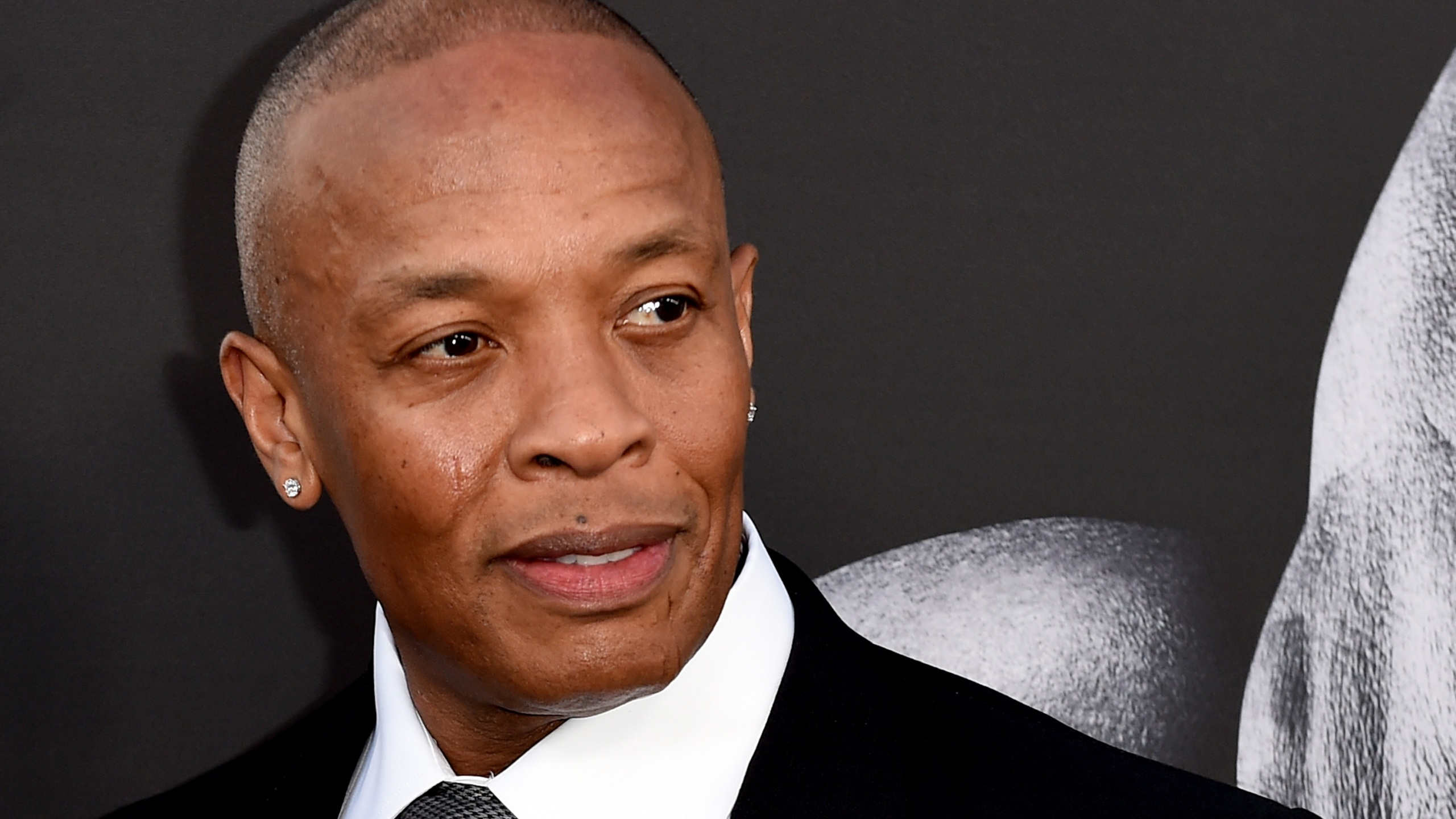 "Producer Dr. Dre arrives at the premiere screening of HBO's ""The Defiant Ones"" at Paramount Studios on June 22, 2017, in Los Angeles, California. (Kevin Winter/Getty Images)"