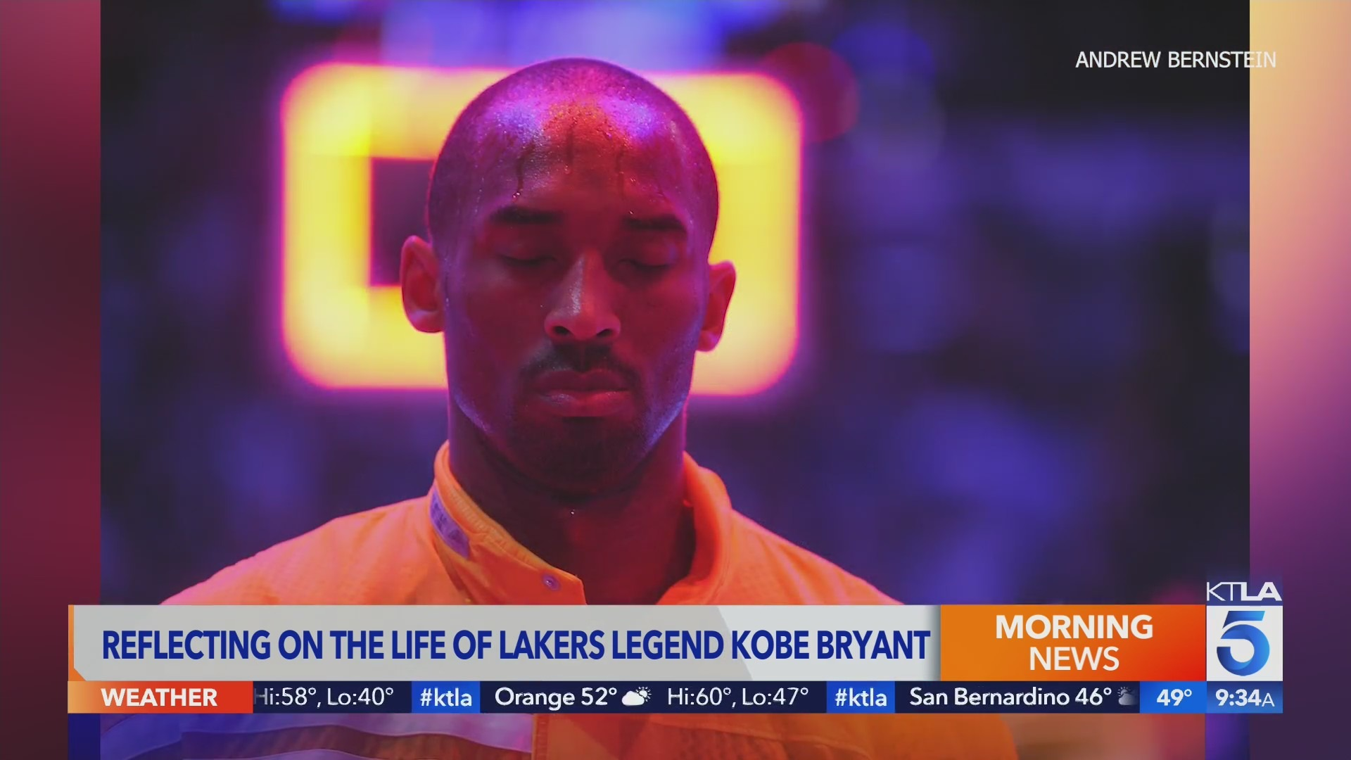 Remembering Kobe Bryant with Andrew Bernstein