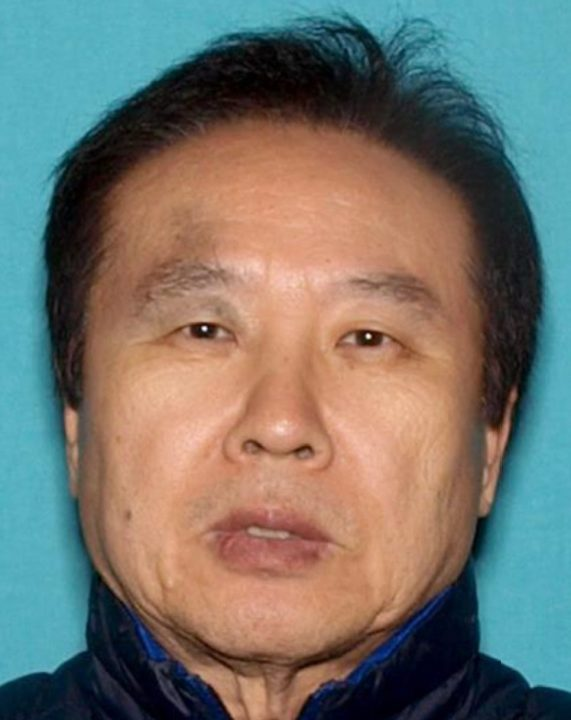 Lin Tae Kim, 66, is seen in an undated photo released by Riverside police.