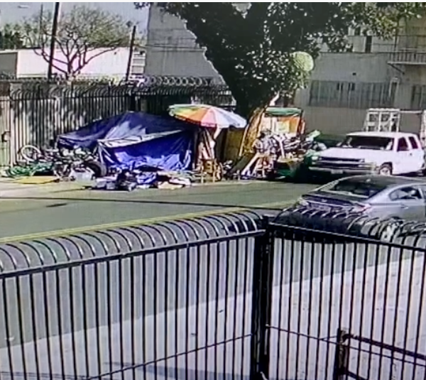 Surveillance video of a South L.A. hit-and-run crash that occured on Jan. 4, 2021 was provided by LAPD on Jan. 11, 2021.