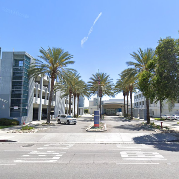 Mission Community Hospital is seen in a Google Maps Street View image.