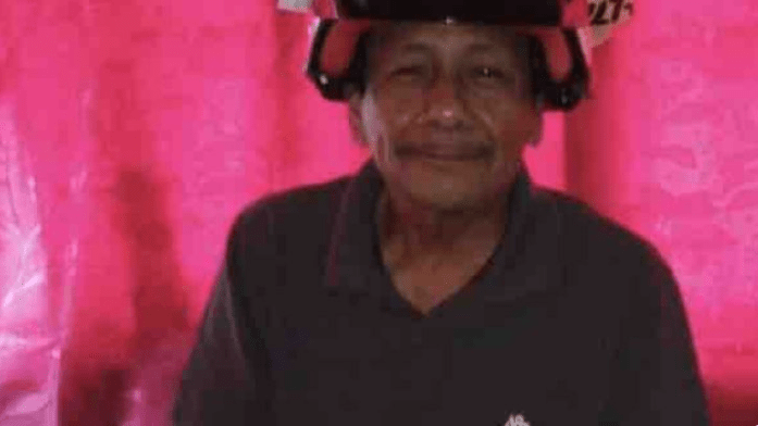 Miguel Carachure is shown in an undated photo on a GoFundMe page.