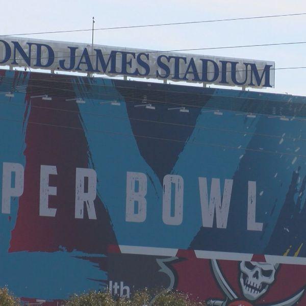 Raymond James Stadium in Tampa, Florida, site of Super Bowl LV. (WFLA)
