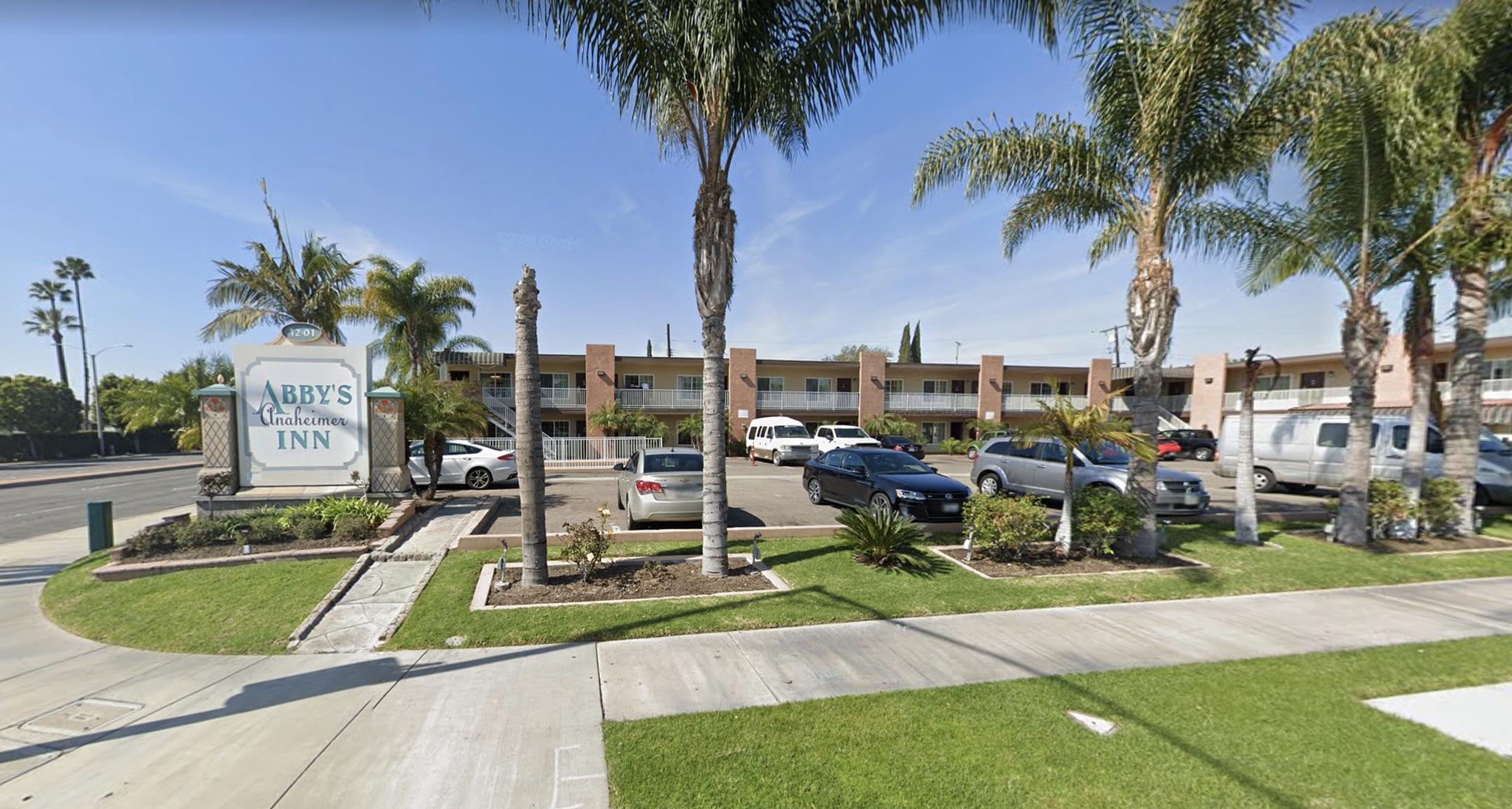 Abby's Anaheimer Inn in Anaheim is shown in a Street ViewimagefromGoogleMaps.