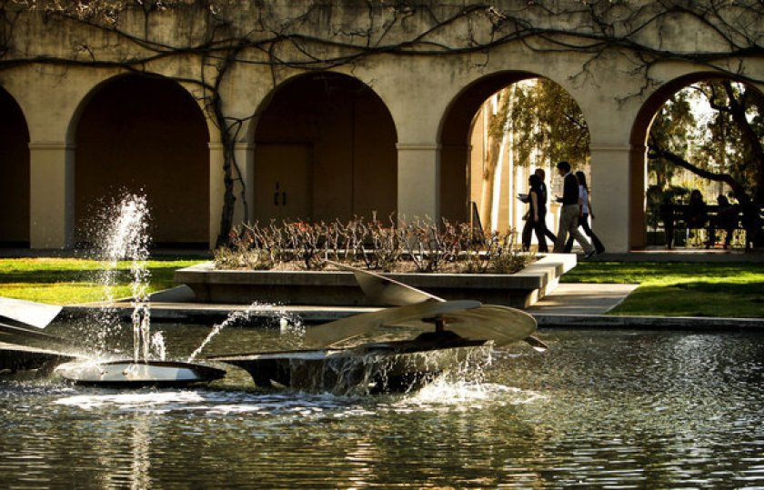 An undated file photo shows the Caltech campus in Pasadena. (Ricardo DeAratanha / Los Angeles Times)